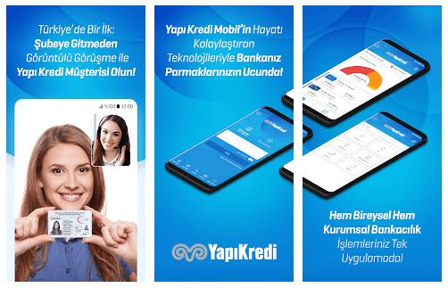 Yapı Kredi Mobil Bankacılık 3.5.1 (Android)