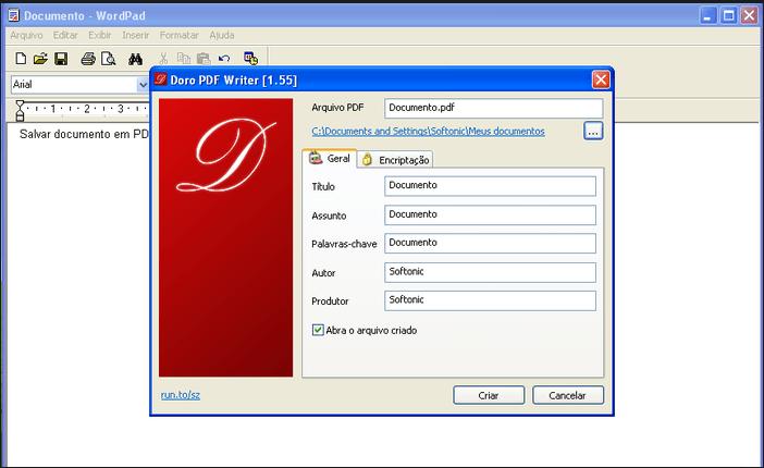 Doro PDF Writer 2.15