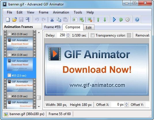 Free Gif Animator 4.6.17