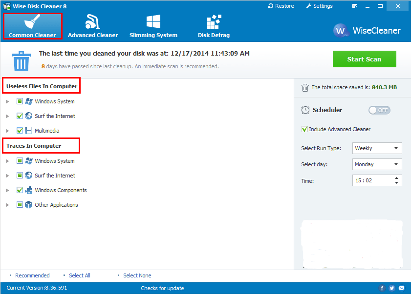 Wise Disk Cleaner 10.2.3