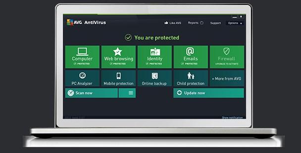 AVG Antivirus FREE 20.10.3157
