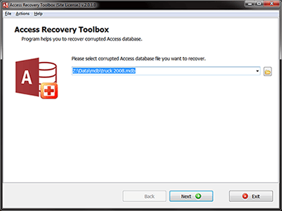 Access Recovery Toolbox 2.2.7.0