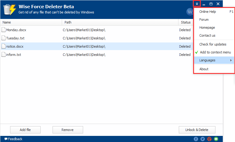 Wise Force Deleter 1.4.7