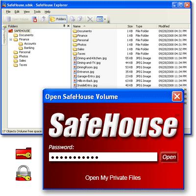 FREE SafeHouse Explorer Encryption 3.01.000