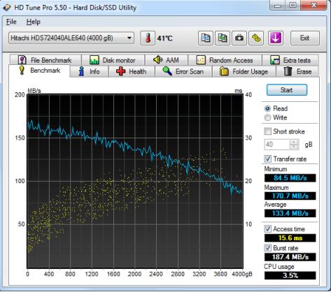 HD Tune Pro 5.70