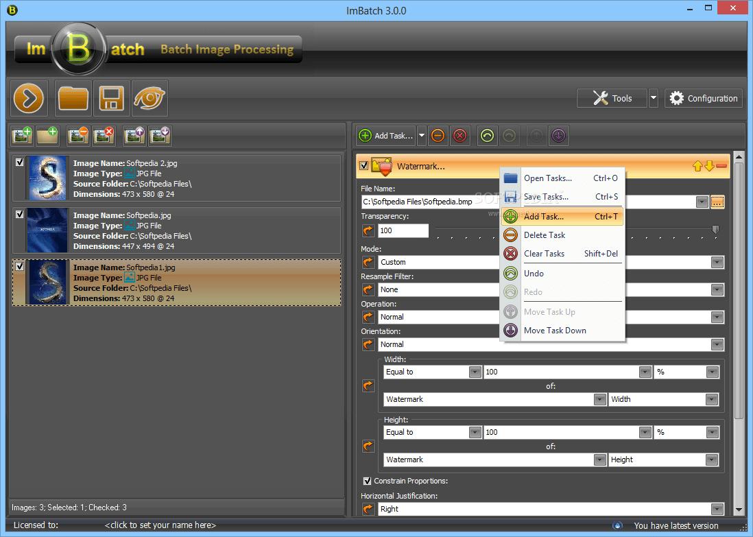 ImBatch 7.2.0