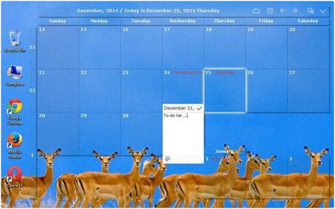 Desktop Calendar 2.2.39.4422
