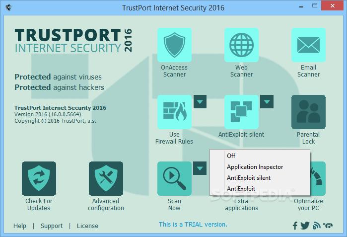 TrustPort Antivirus 17.0.5.7060