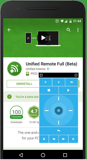 Unified Remote 3.6.1.2342