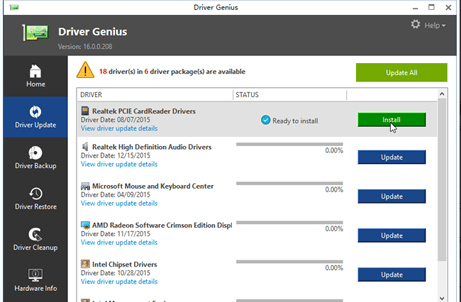 Driver Genius Professional Edition 18.0.0