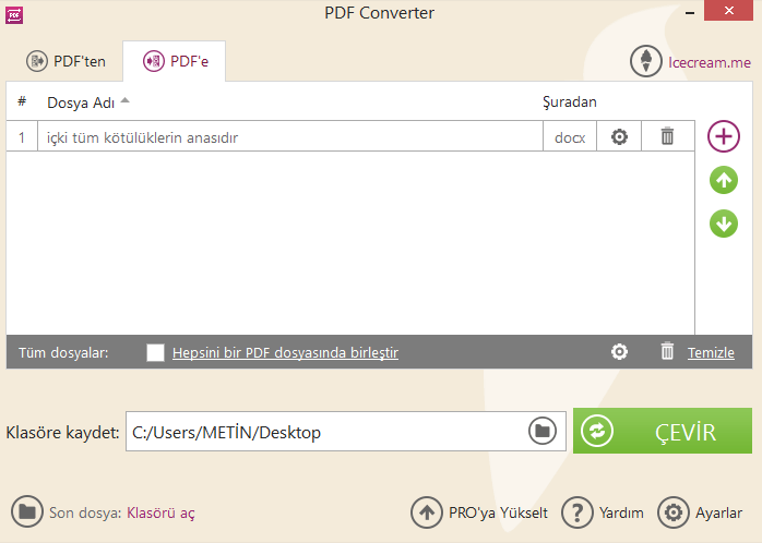 Icecream PDF Converter 2.75