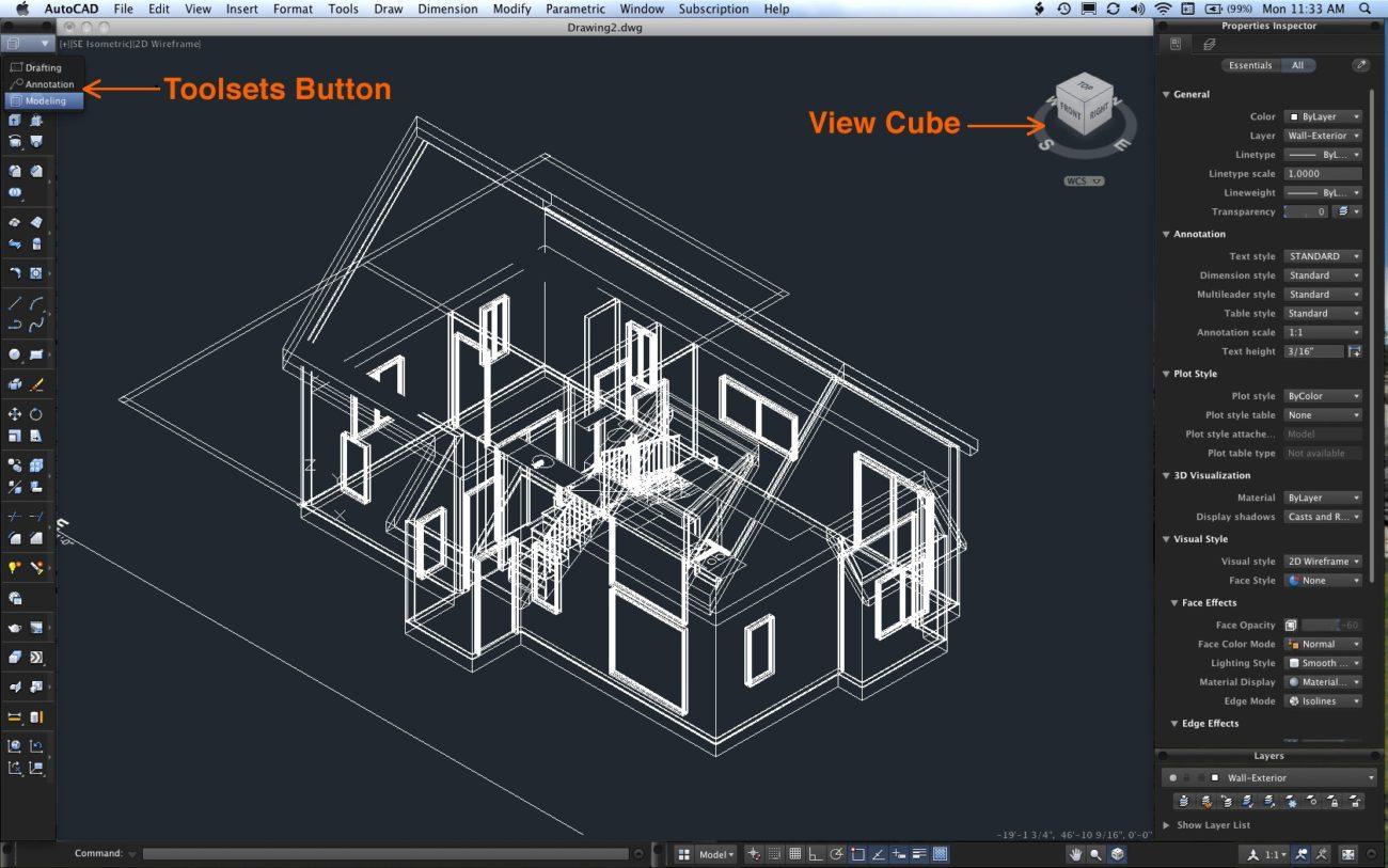 AutoCAD En İyi Basit 3D Grafik ve Çizim Programı İndir