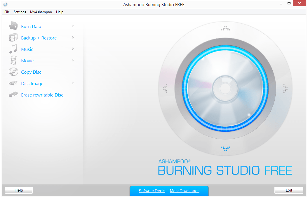 Ashampoo Burning Studio Free 1.20.2