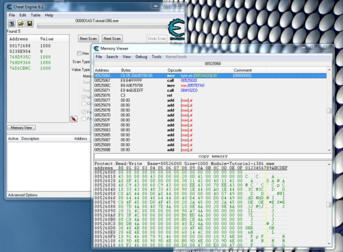Cheat Engine 6.8.1