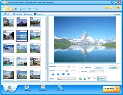 ThunderSoft Slideshow Factory 3.7.5