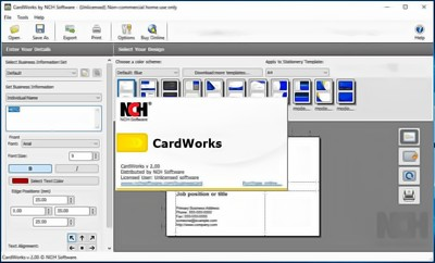 CardWorks Business Card Software 5.01