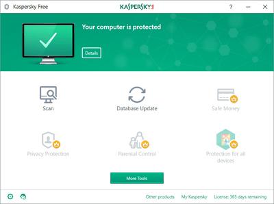 Kaspersky Free 19.0.0.1088