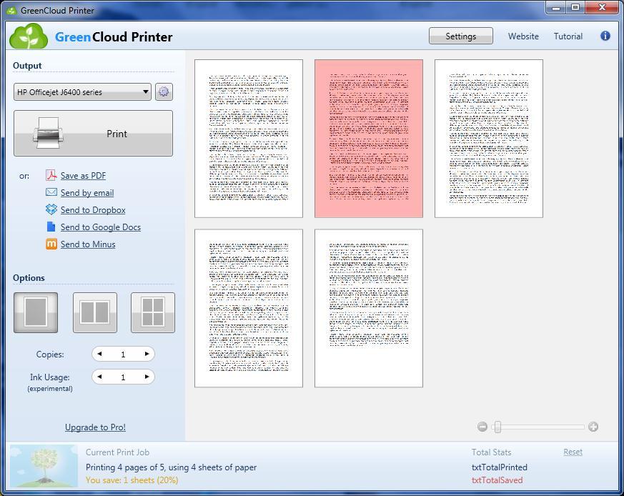 GreenCloud Printer 7.8.5.0