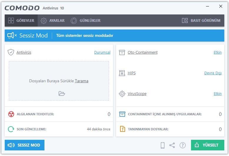 Comodo Antivirus 12.2.2.8012