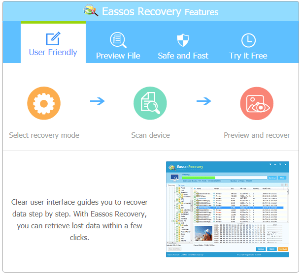 Eassos Recovery Free 4.4.0.435
