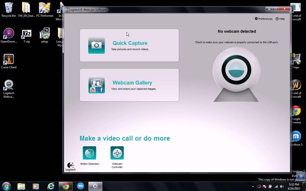 Logitech Webcam Software 2.80.853