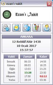 Ezan'ı Vakit 7.1.11