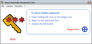 Show Asterisks Password Free 1.2.0.0