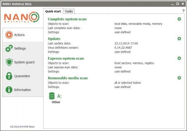 NANO AntiVirus 1.0.146.90797
