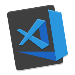 Visual Studio Code ikon