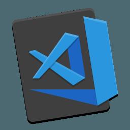 Visual Studio Code ikon