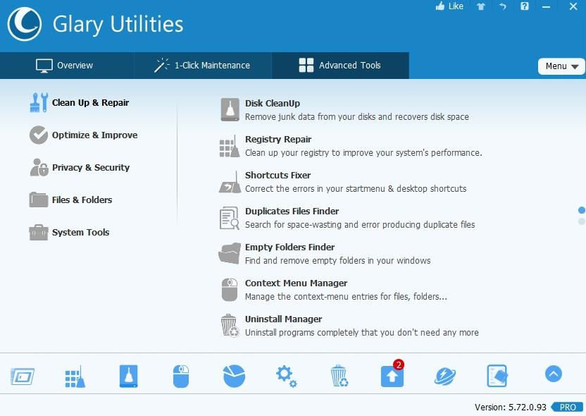 Glary Utilities 5.146