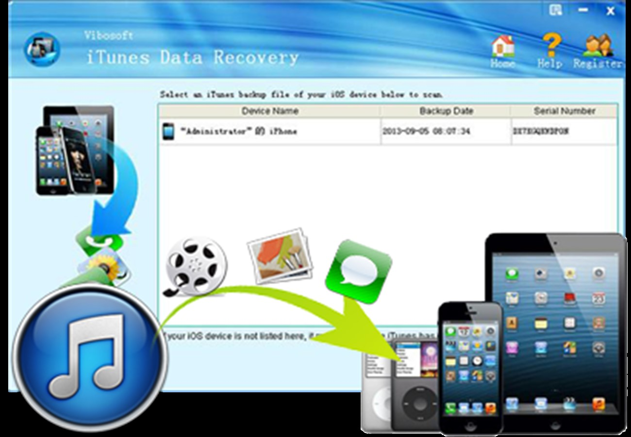 iTunes Data Recovery 2.1.36