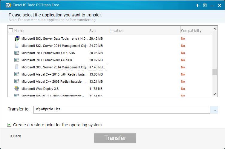 EaseUS Todo PCTrans Free 10.5