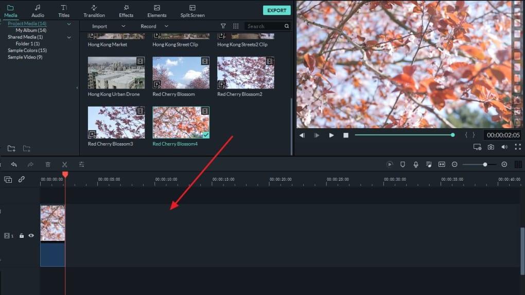 Filmora Video Editor 10