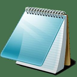 notepad ikon