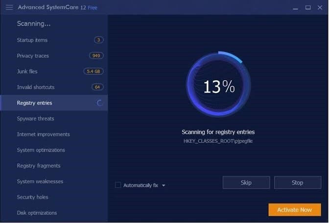 Advanced SystemCare Free 13.3.0