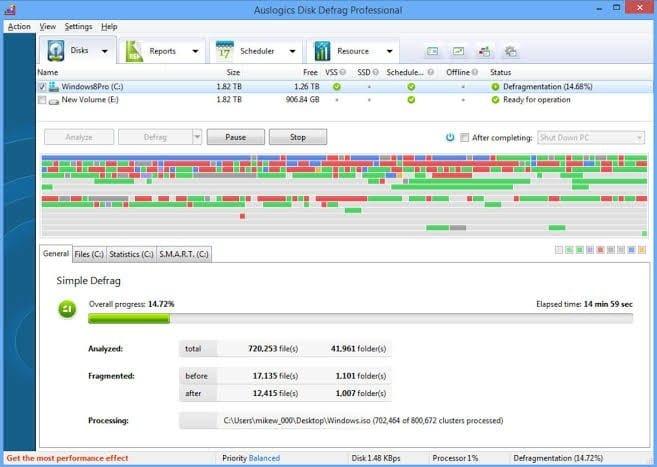 Auslogics Disk Defrag Free 10.0.0.4
