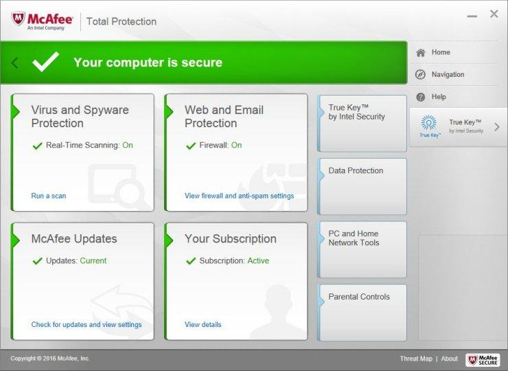 McAfee Total Protection 4.3.3