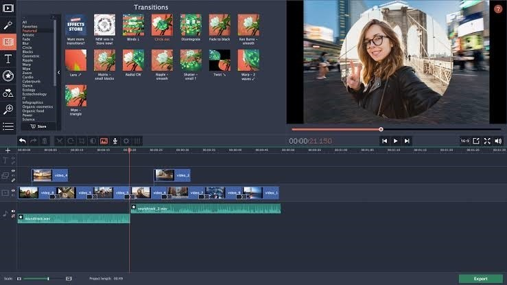 Movavi Video Editor 15.4.1.0