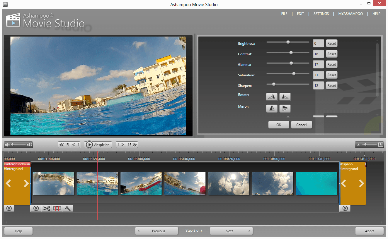 Ashampoo Movie Studio Pro 3 3.0.1