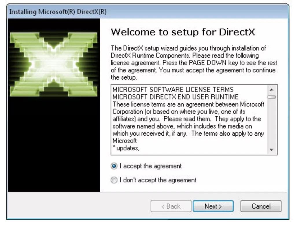 DirectX 9.29.1974