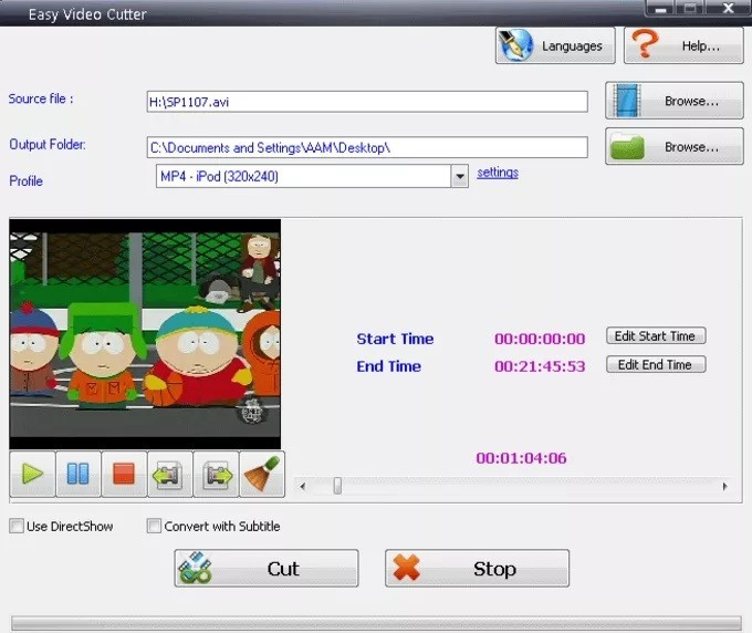 Easy Video Cutter 2.3
