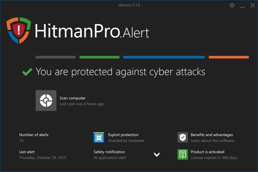HitmanPro 3.8.22.316