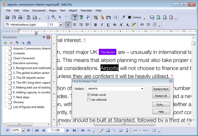 Infix PDF Editor 7.5.1