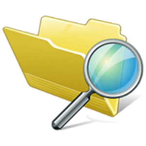 SearchMyFiles ikon