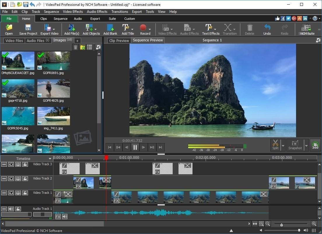 VideoPad Video Editor 8.77