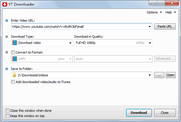 YT Downloader