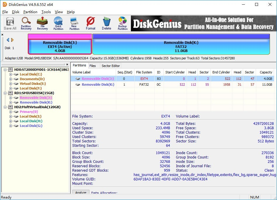 DiskGenius 5.4.0.1124