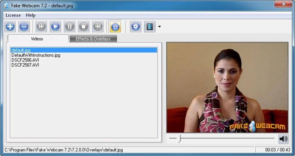 Fake Webcam 7.4.0.0