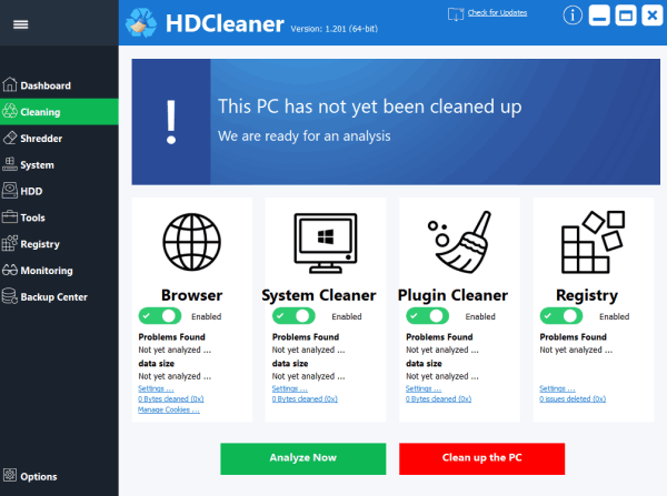 HDCleaner 1.307